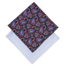 Derek Rose Cotton Handkerchief, Pack of 2, White