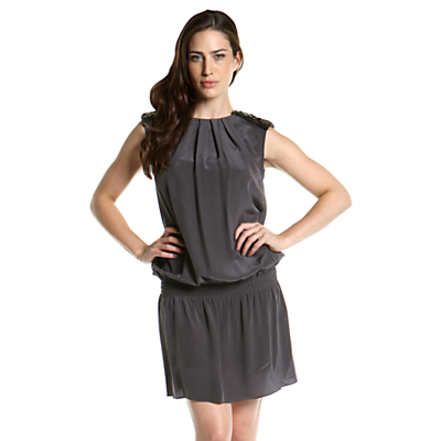 shoulder pad dress