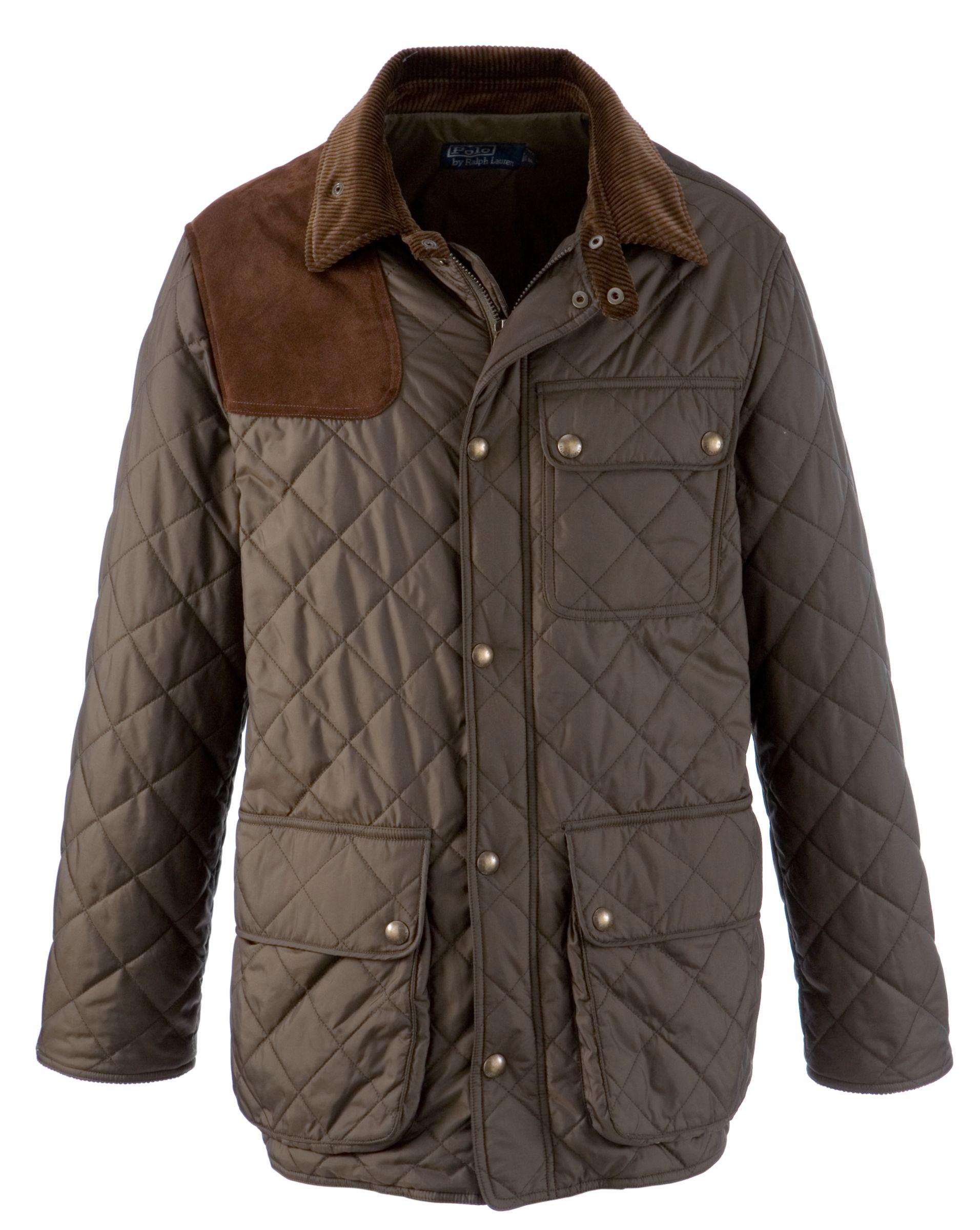 Polo Ralph Lauren Kempton Quilted Jacket, Dark Green at John Lewis