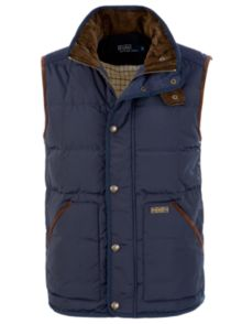 Polo Ralph Lauren Triple Crown Gilet, Navy