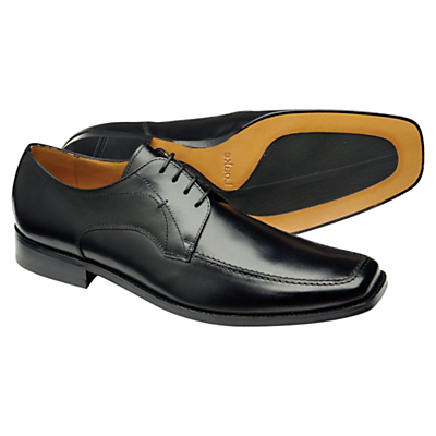 Loake Magnum Leather Lace Up Shoes, Black