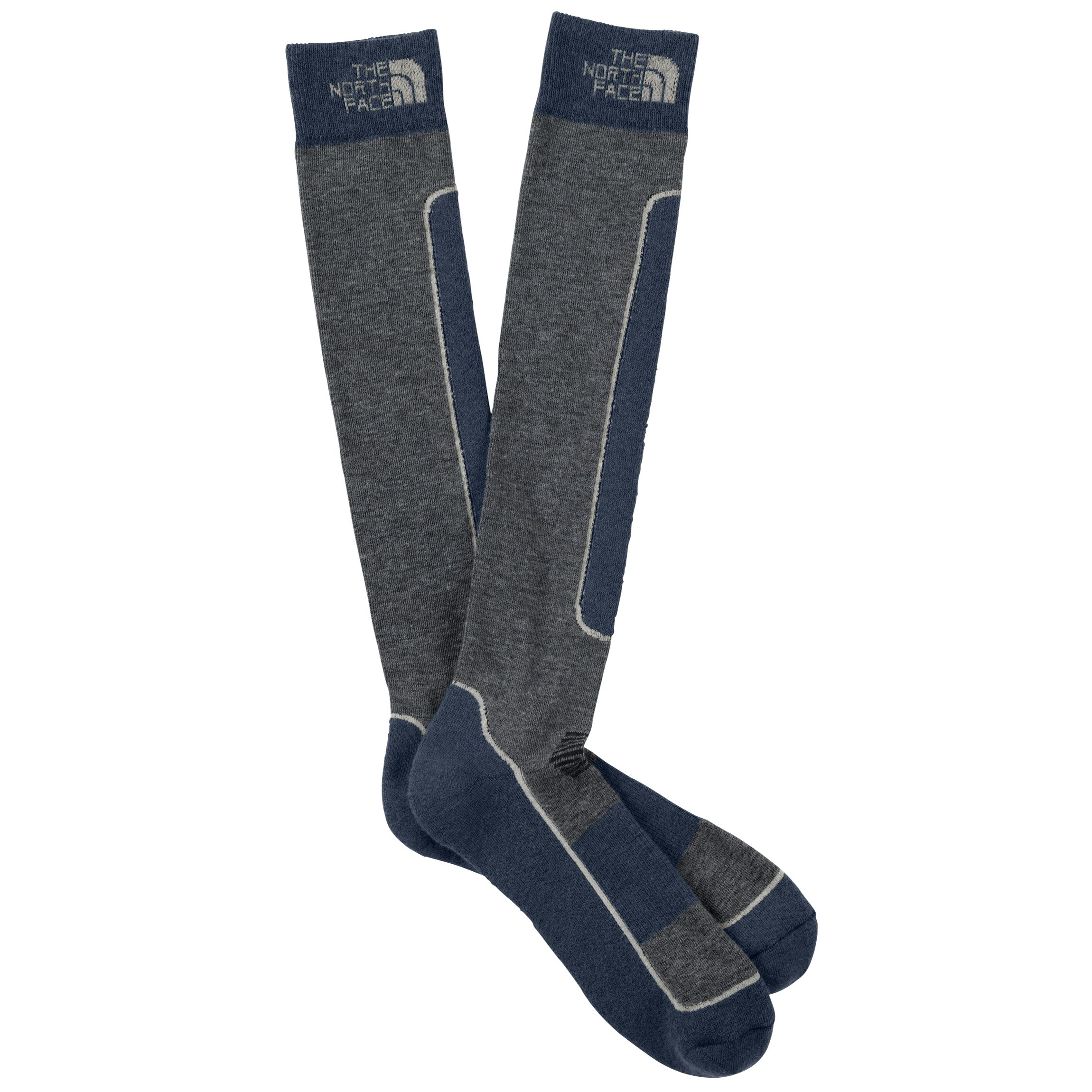 The North Face Padded Ski Sock, Blue/Grey