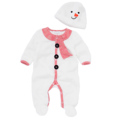 Baby Snowman Fancy Dress Costume