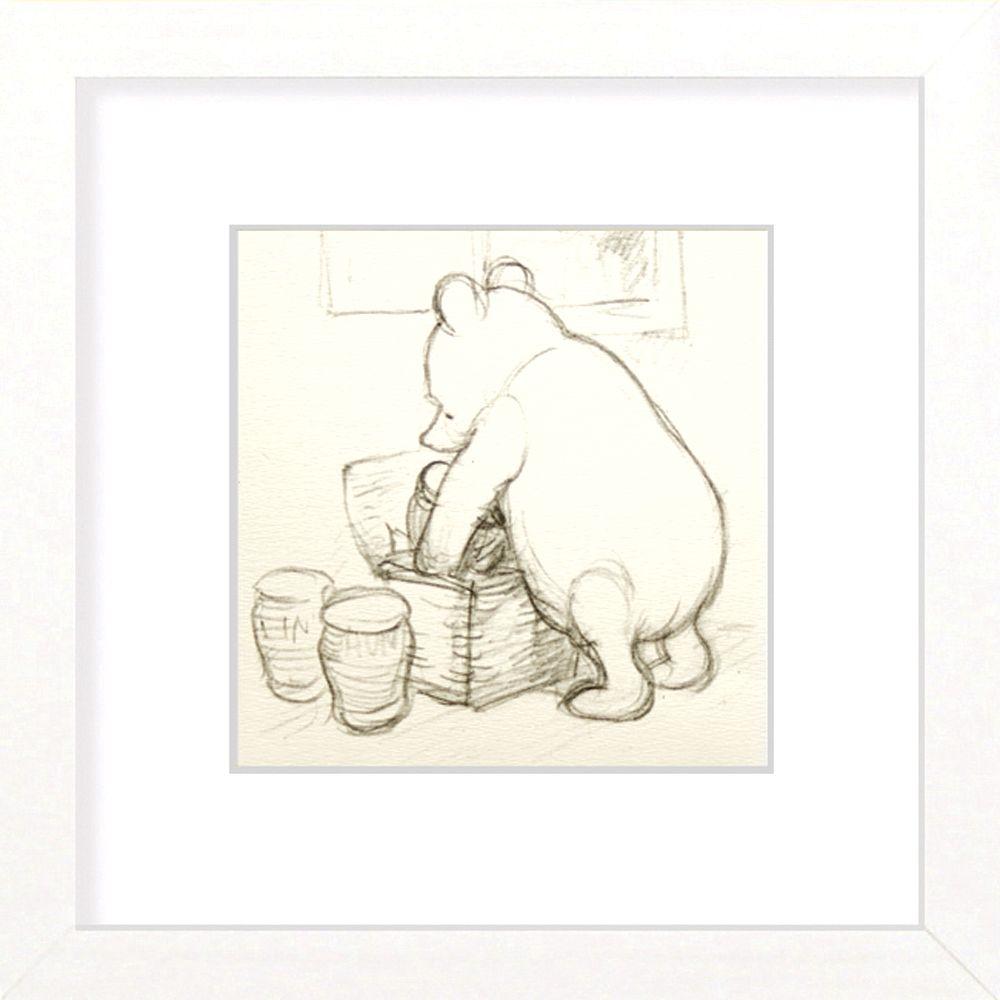 Winnie The Pooh Made Up a Basket
