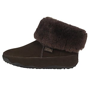 FitFlop Mukluk Sheepskin Boots, Chocolate