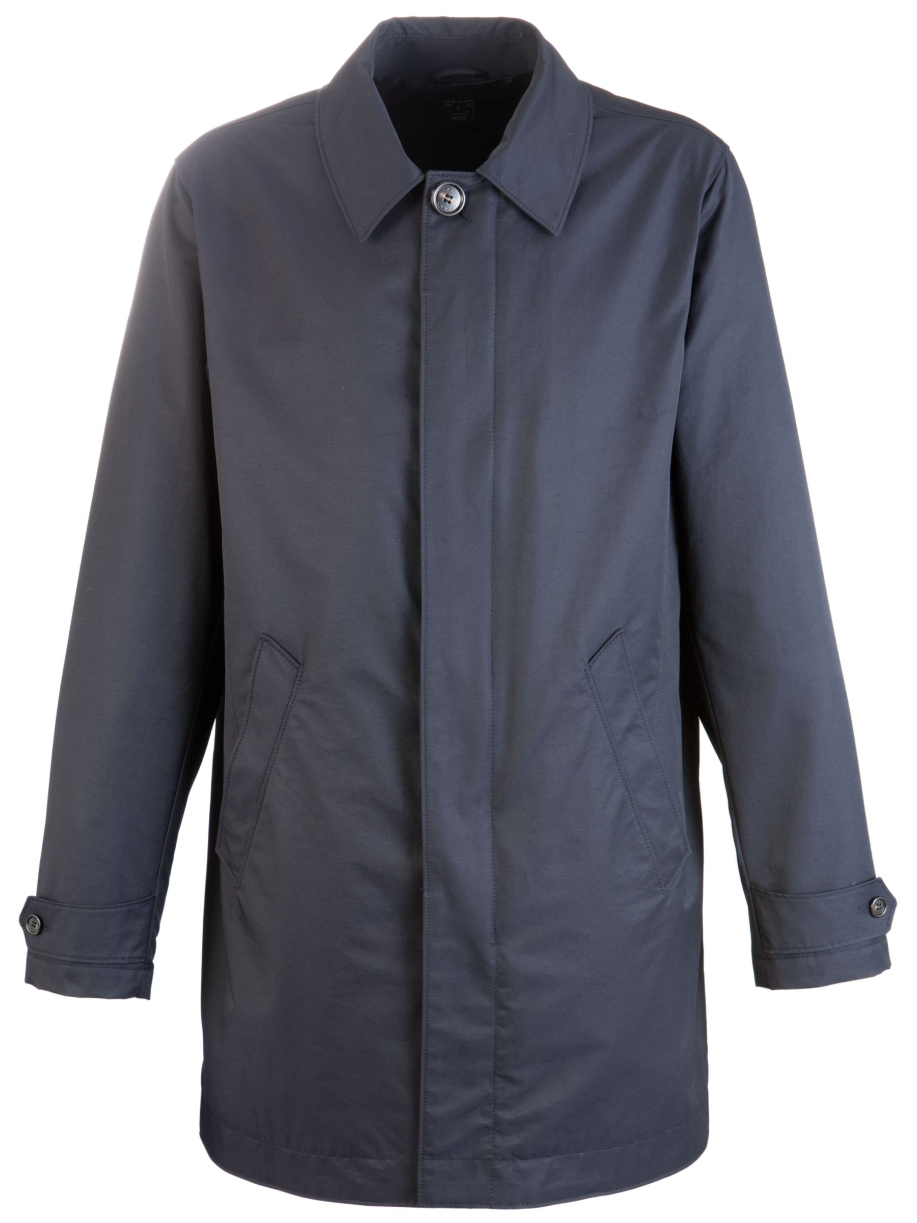 Gant Seattle Raincoat, Blue Navy at John Lewis
