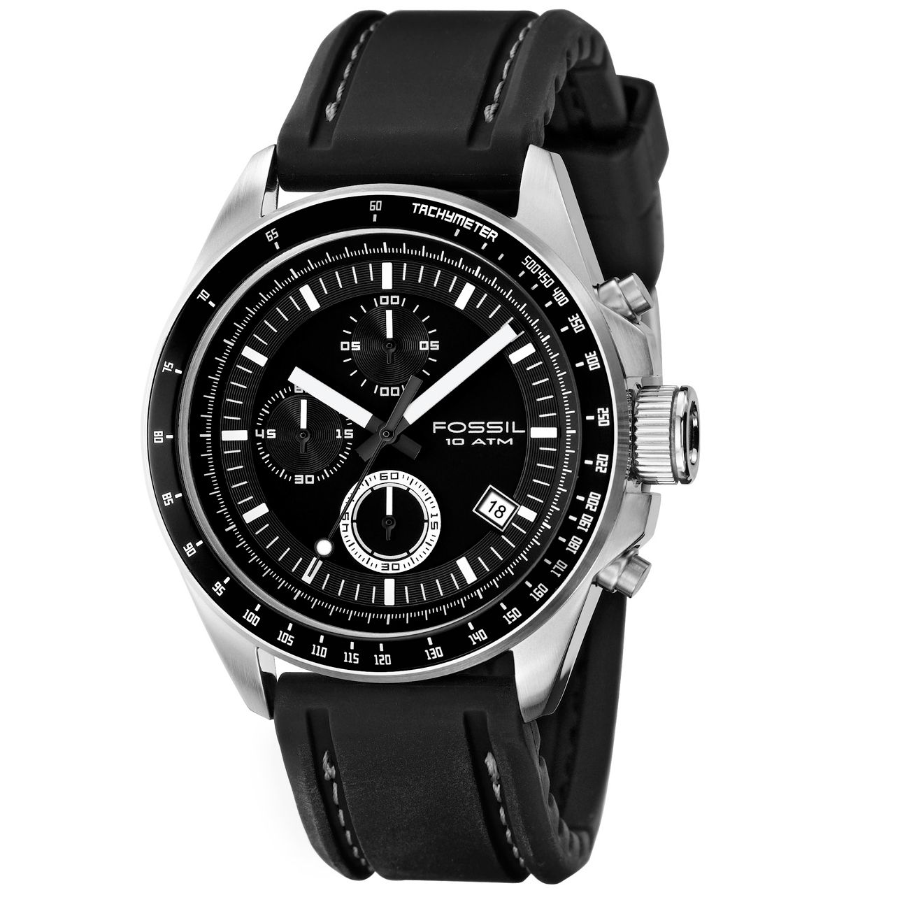 Fossil CH2573 Mens Black Dial Watch