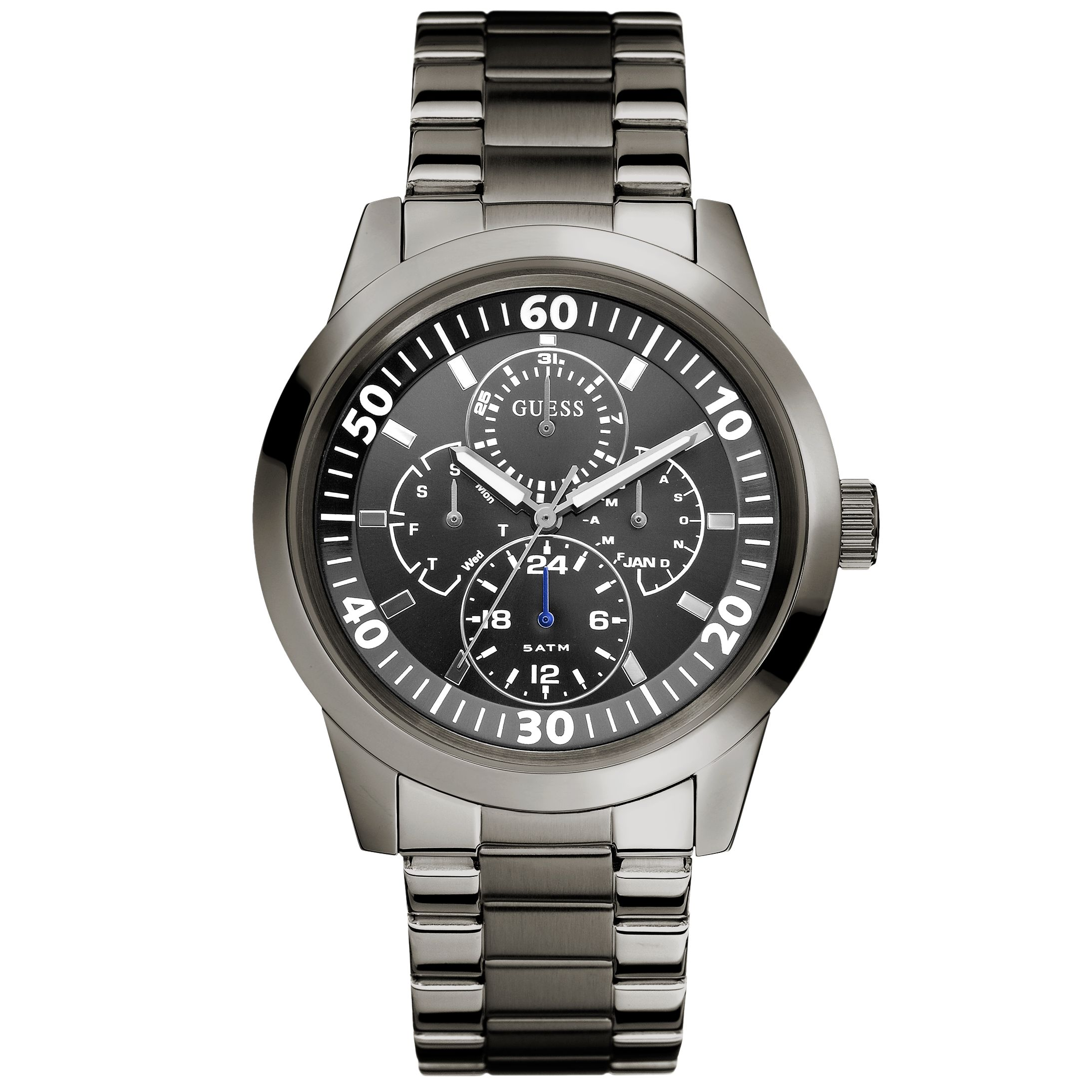 guess watches buy guess watches online page 25 watches org uk guess w12623g1 men s gunmetal newport bracelet watch