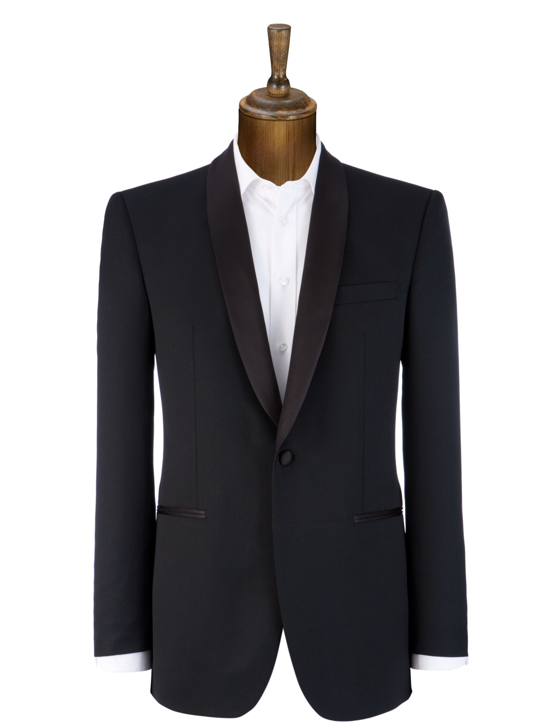 John Lewis Men Victor Shawl Neck Evening Suit Jacket, Black at John Lewis