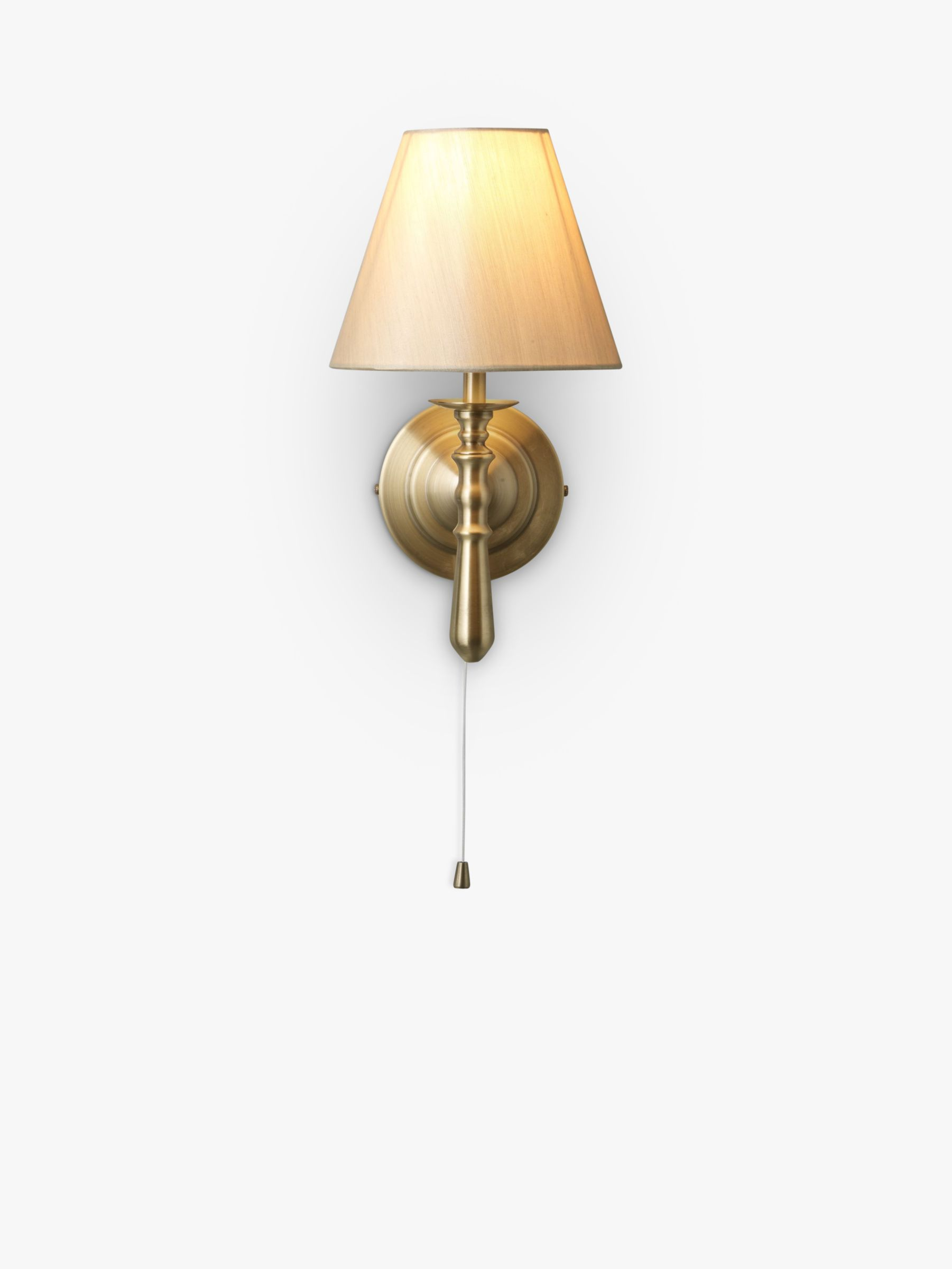 Sloane Wall Light, Antique Brass