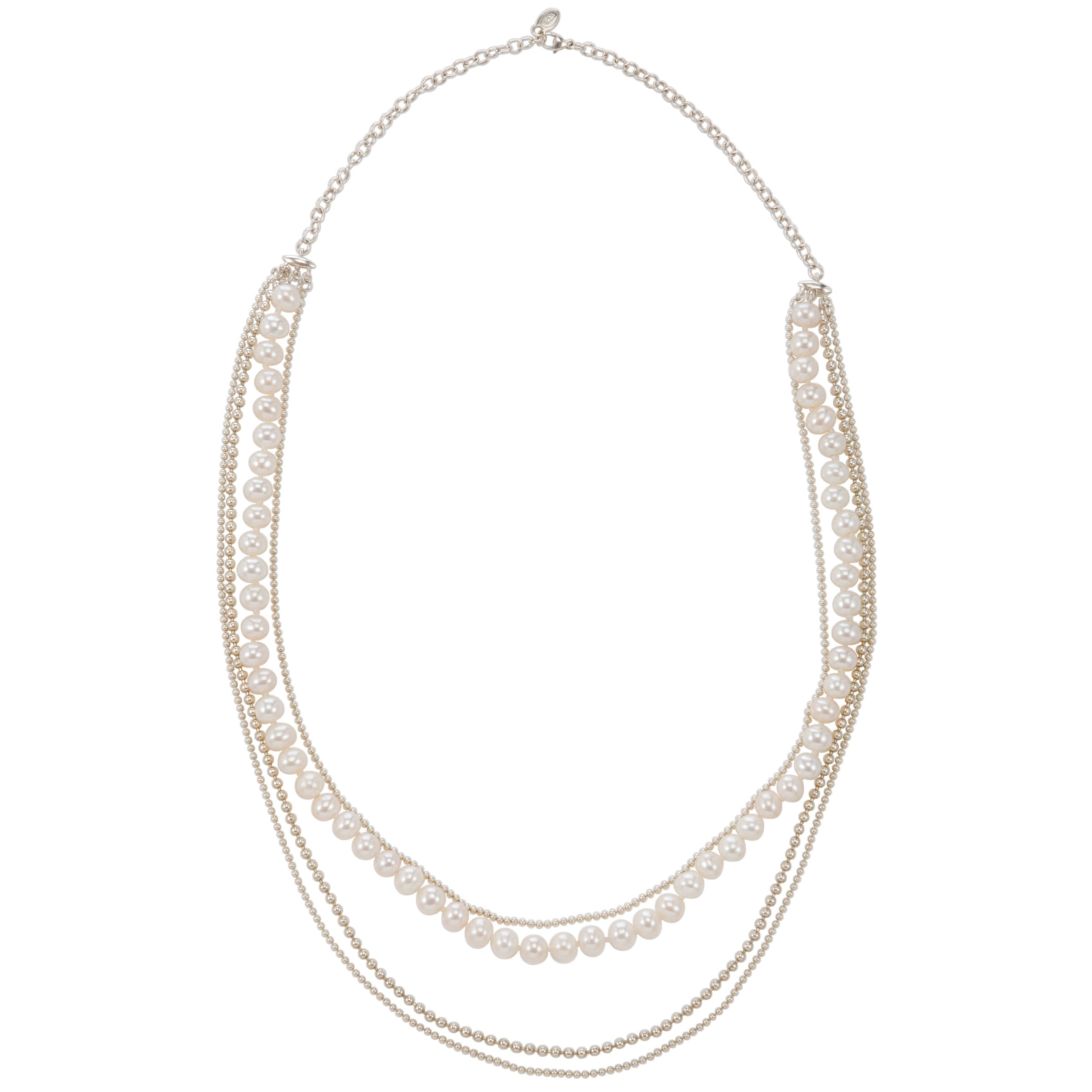 Dinny Hall Four Row Freshwater Pearl Necklace