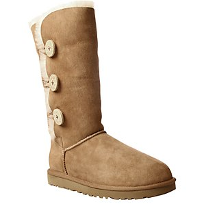 Ugg B Button Triple Tall Boots, Brown