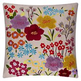 John Lewis Gorgeous Blossom Cushion, Multi