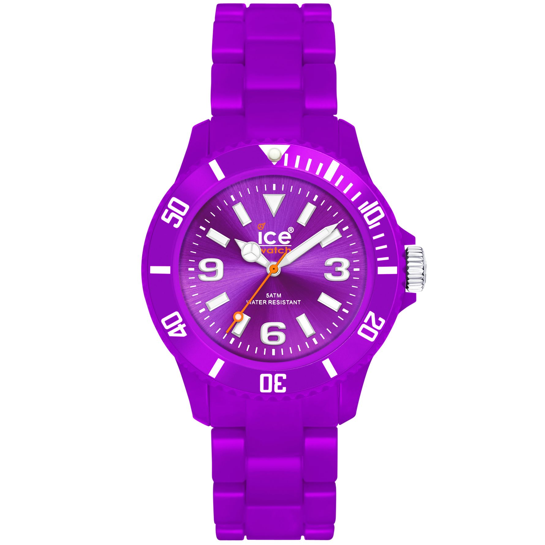 Ice CS-PE-U-P Unisex Neon Purple Bracelet Watch