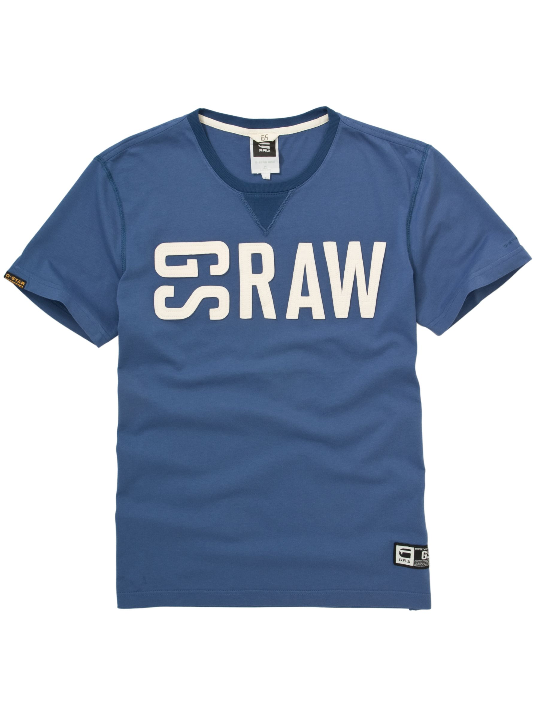 Hawkeye Short-Sleeve T-Shirt, Mid blue
