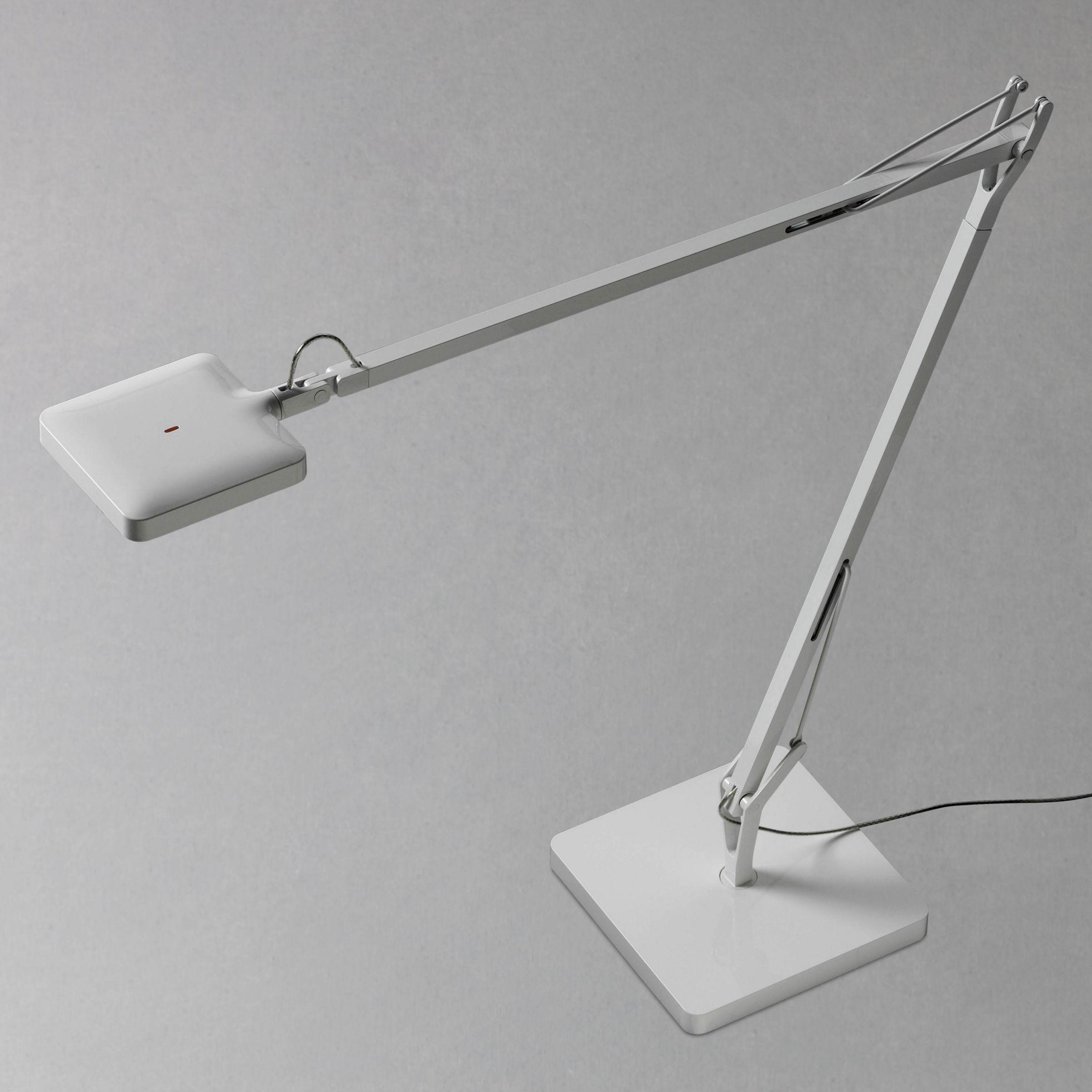 Flos Kelvin LED Task Lamp, White at JohnLewis