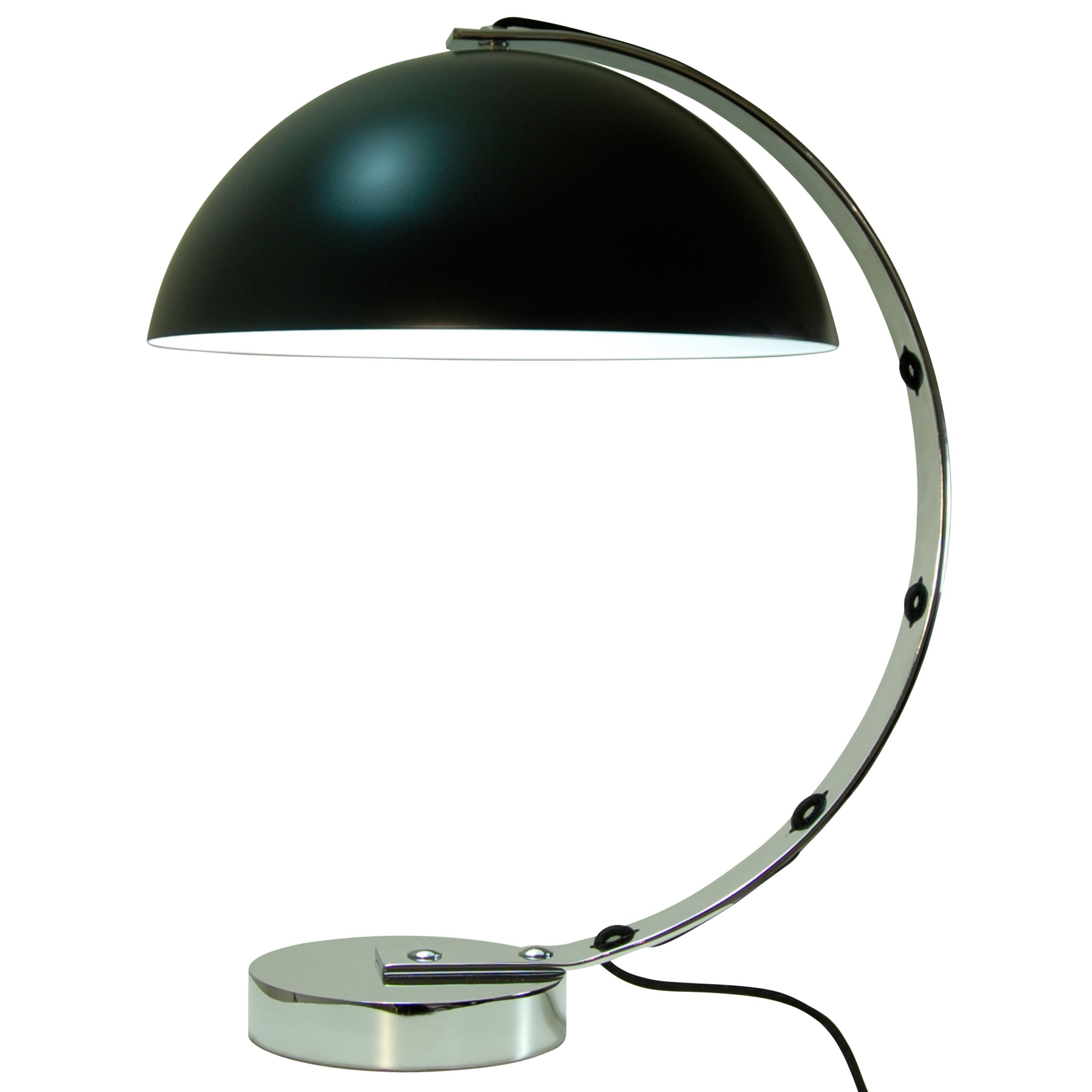 London Desk Lamp, Black