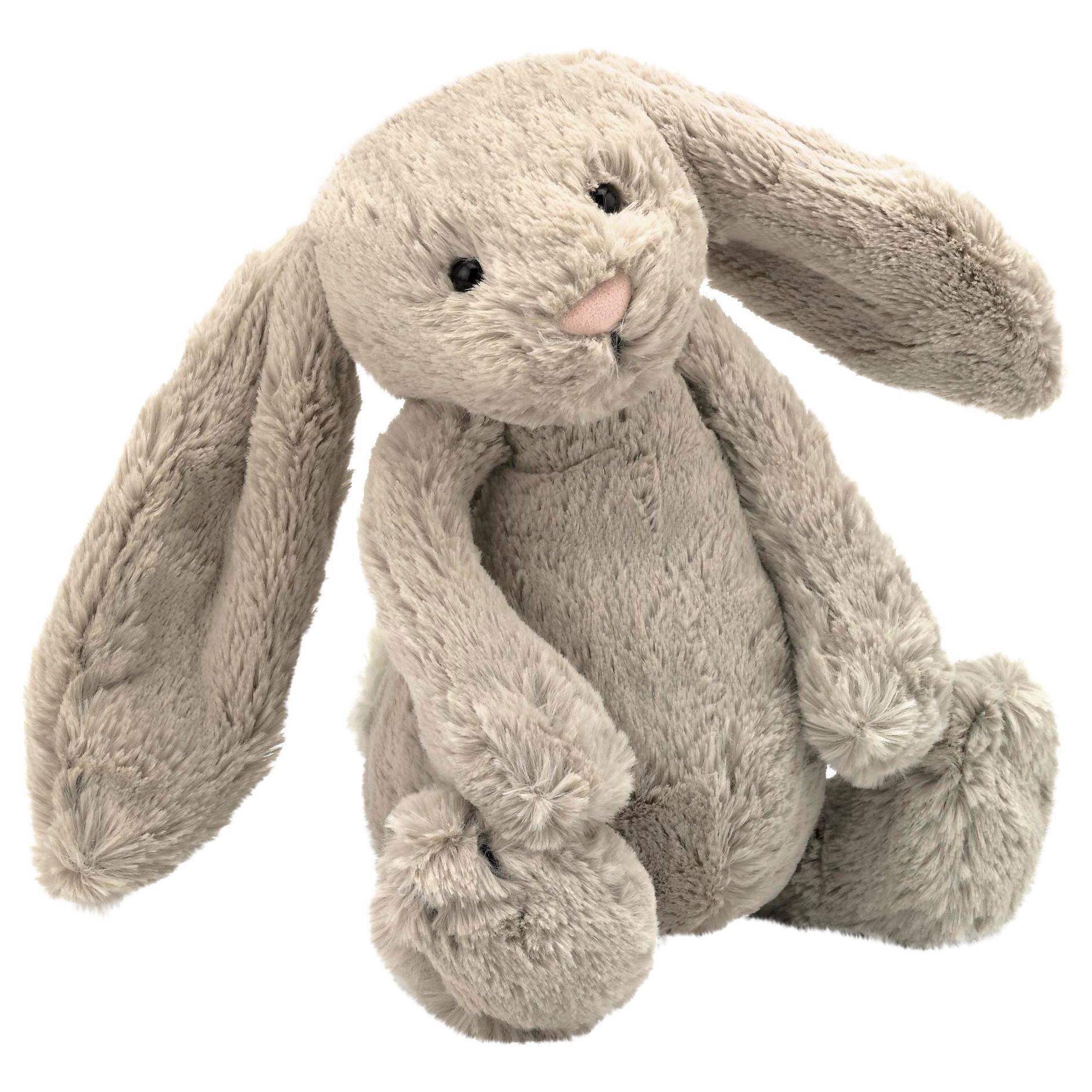 Jellycat Bashful Bunny Toy, Beige, Medium