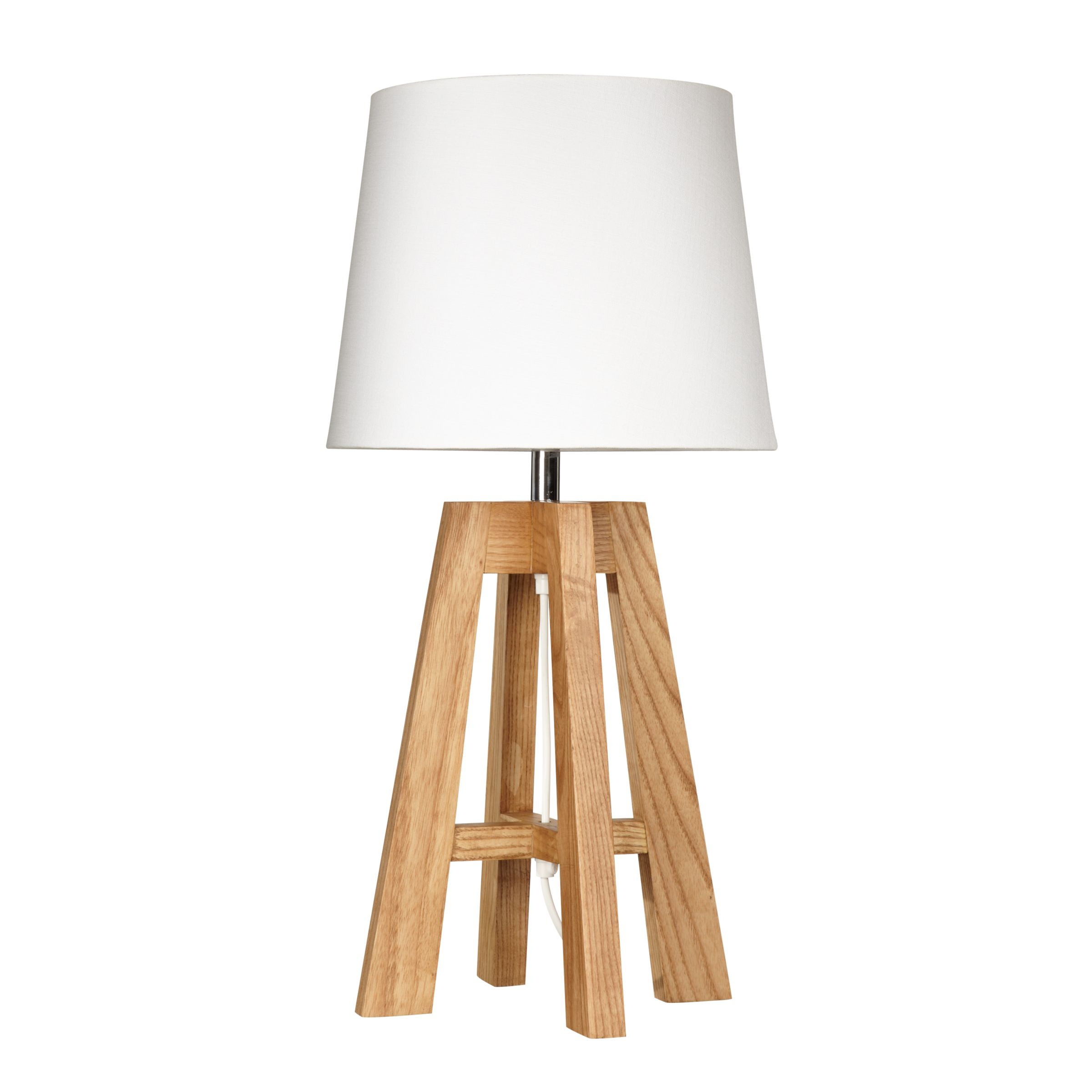 adriana has a 3 legged easel style base made from mango wood and is paired with a simple white. Black Bedroom Furniture Sets. Home Design Ideas
