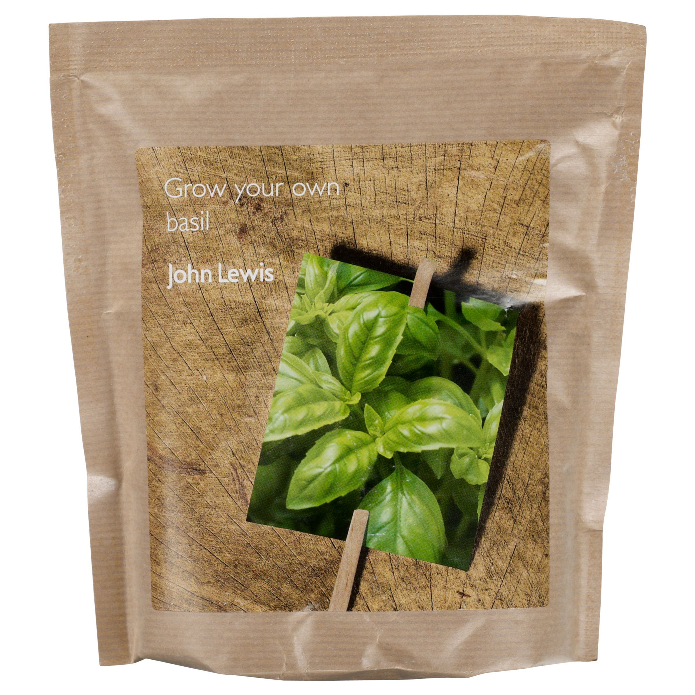 John Lewis Basil Pocket Gardening Collection