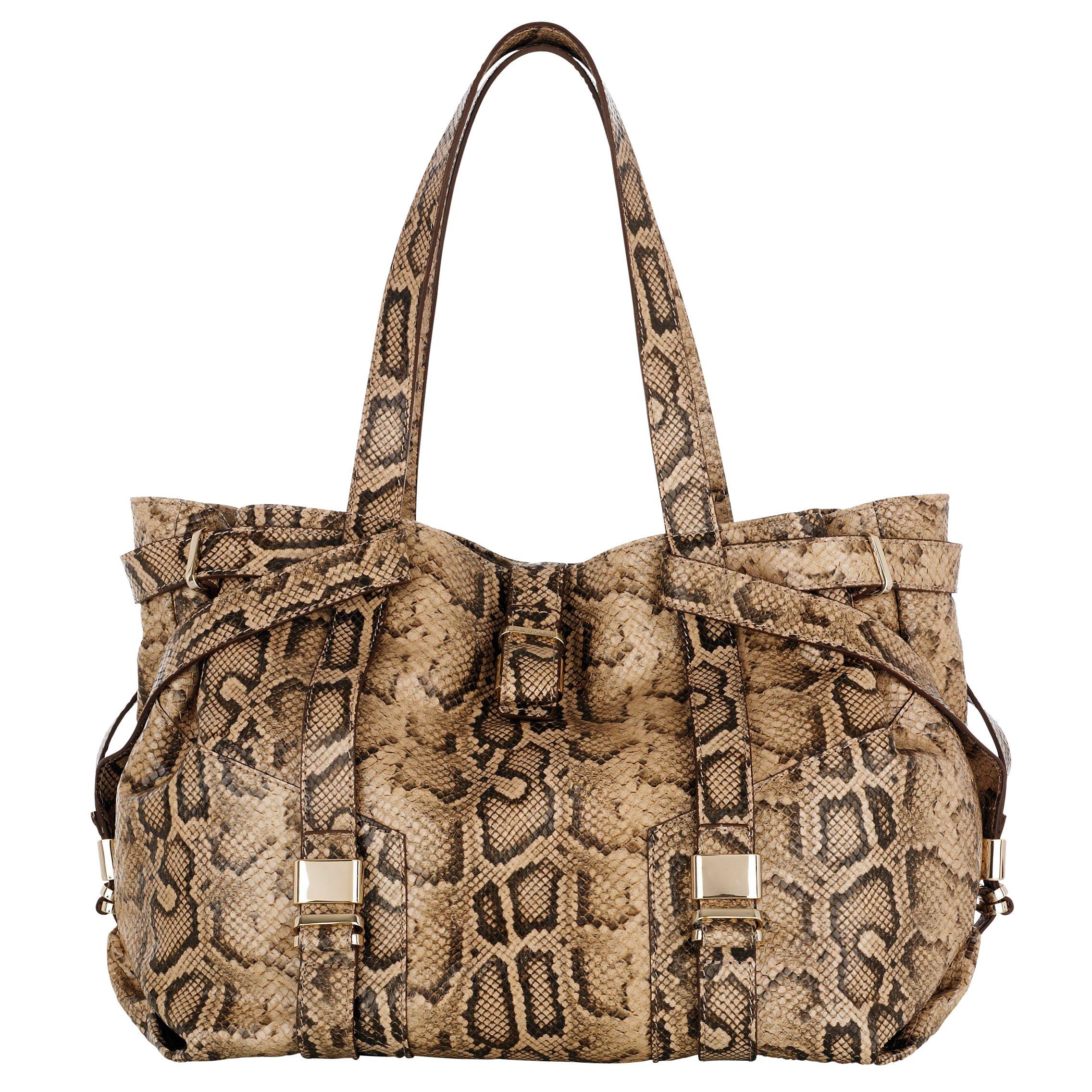 L.K. Bennett Anna Shoulder Bag, Natural at John Lewis