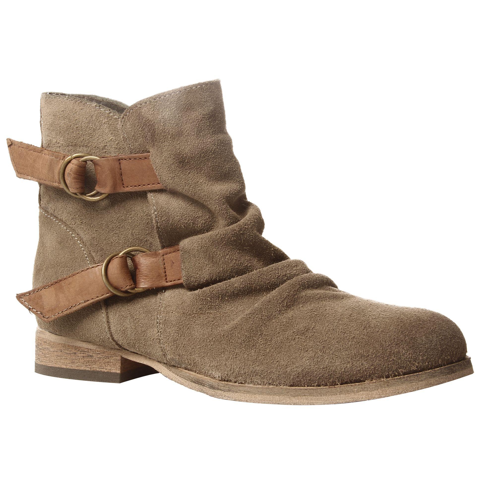 KG by Kurt Geiger Sandbanks Suede Ankle Boots, Neutrals at John Lewis