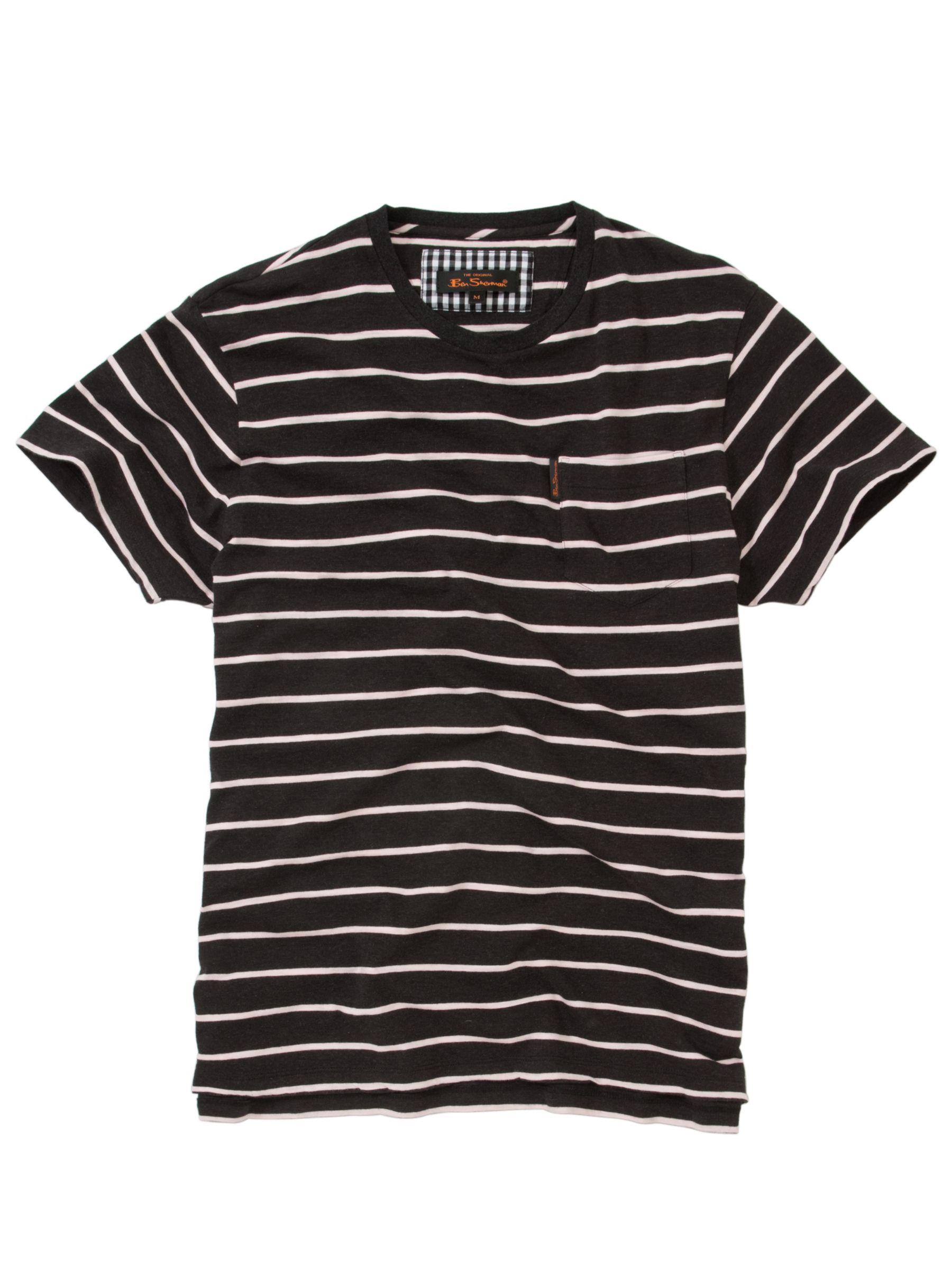 Stripe Short Sleeve T-Shirt,