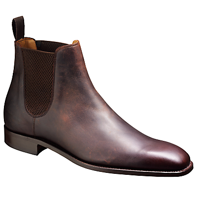 Barker Eskdale Leather Chelsea Boots, Brown