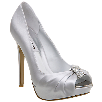 Silver Dune Diamante Shoes