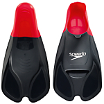 Speedo BioFUSE Training Fin, Red/Black