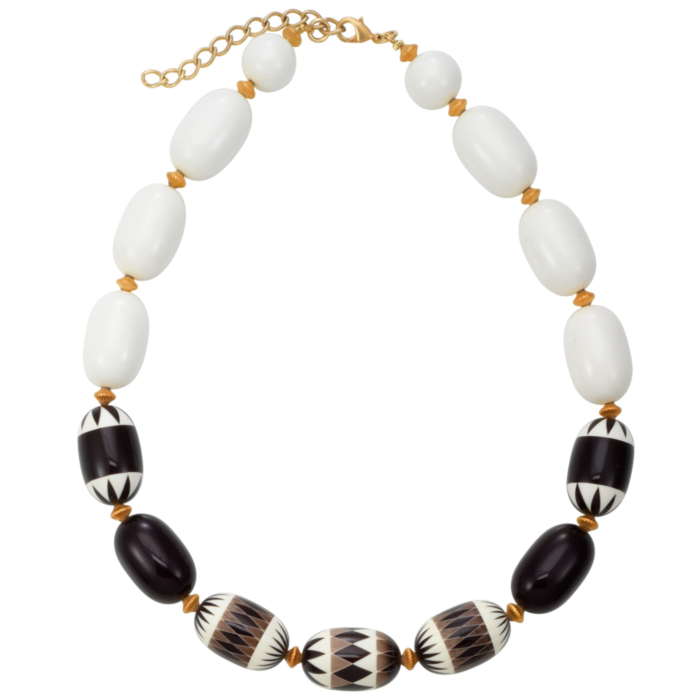 COLLECTION, John Lewis Women African Bead Necklace