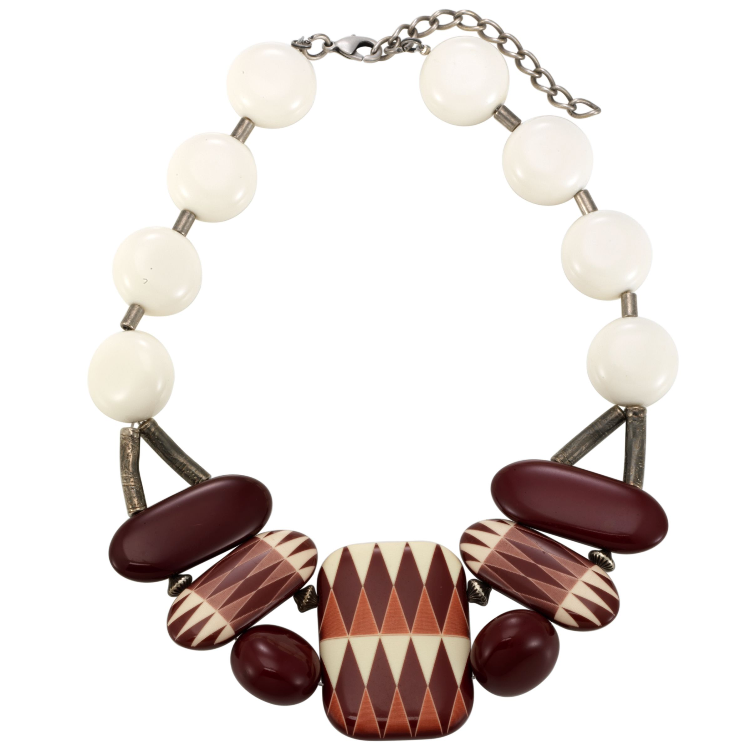 COLLECTION, John Lewis Women Statement African Bead Necklace