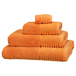 John Lewis Spa Towels, Clementine