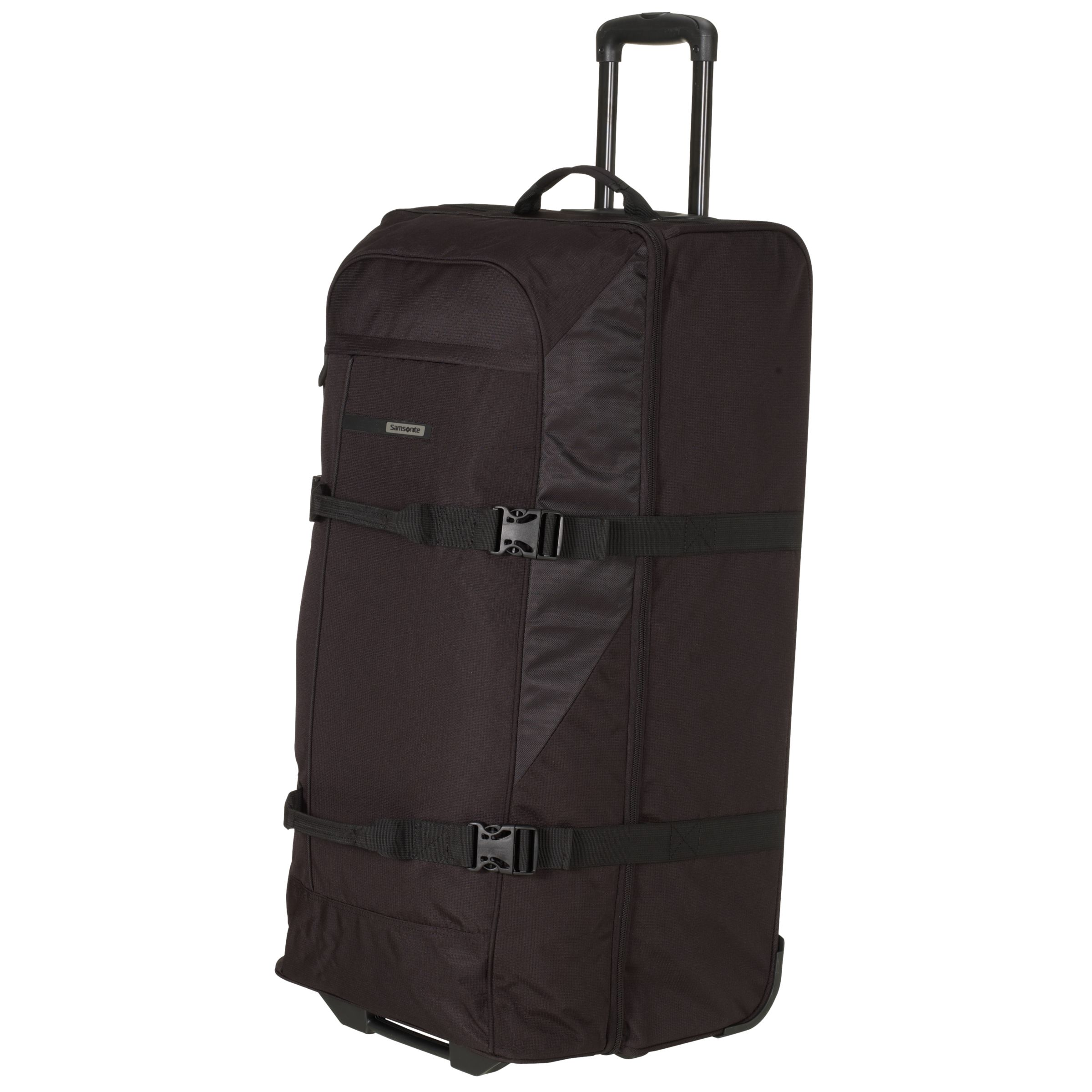 Samsonite Wander-FULL 2-Wheel Duffle Bag, Black