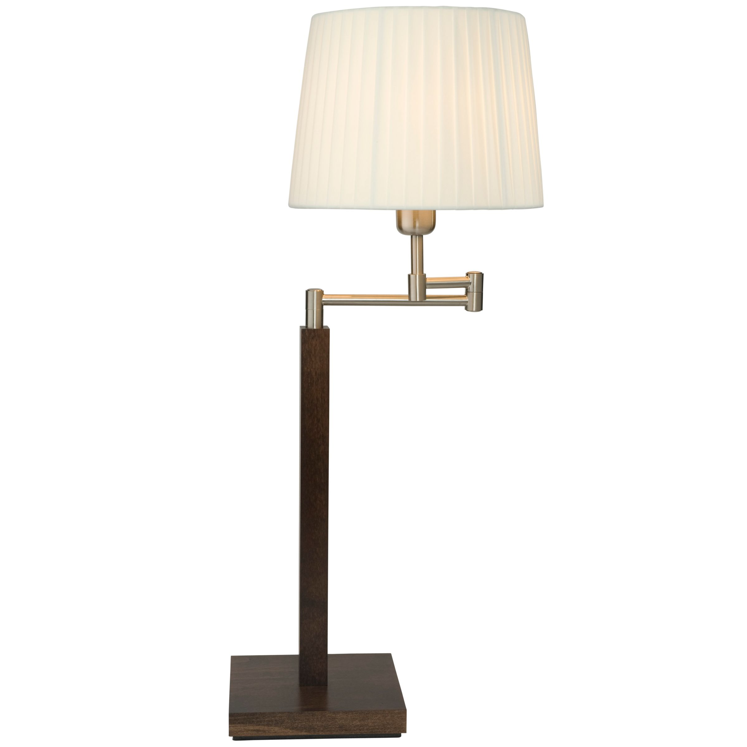 John lewis ava swing arm table lamp review compare for Table lamp shades john lewis