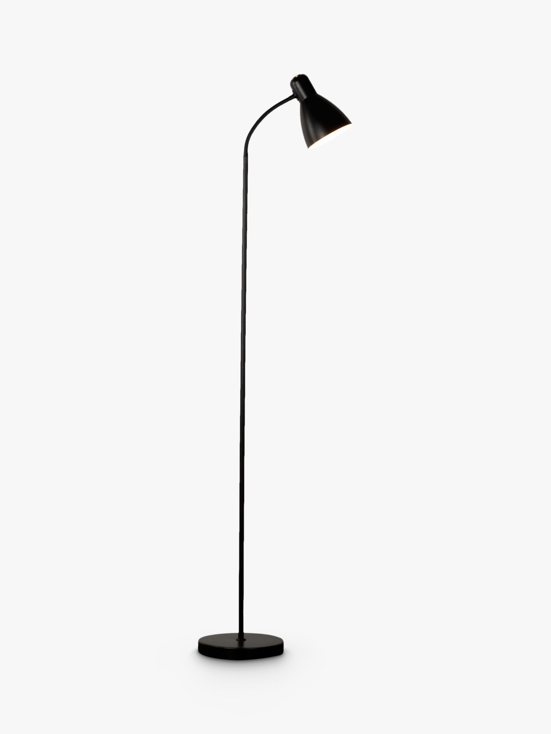 john lewis brandon floor lamp black review compare. Black Bedroom Furniture Sets. Home Design Ideas