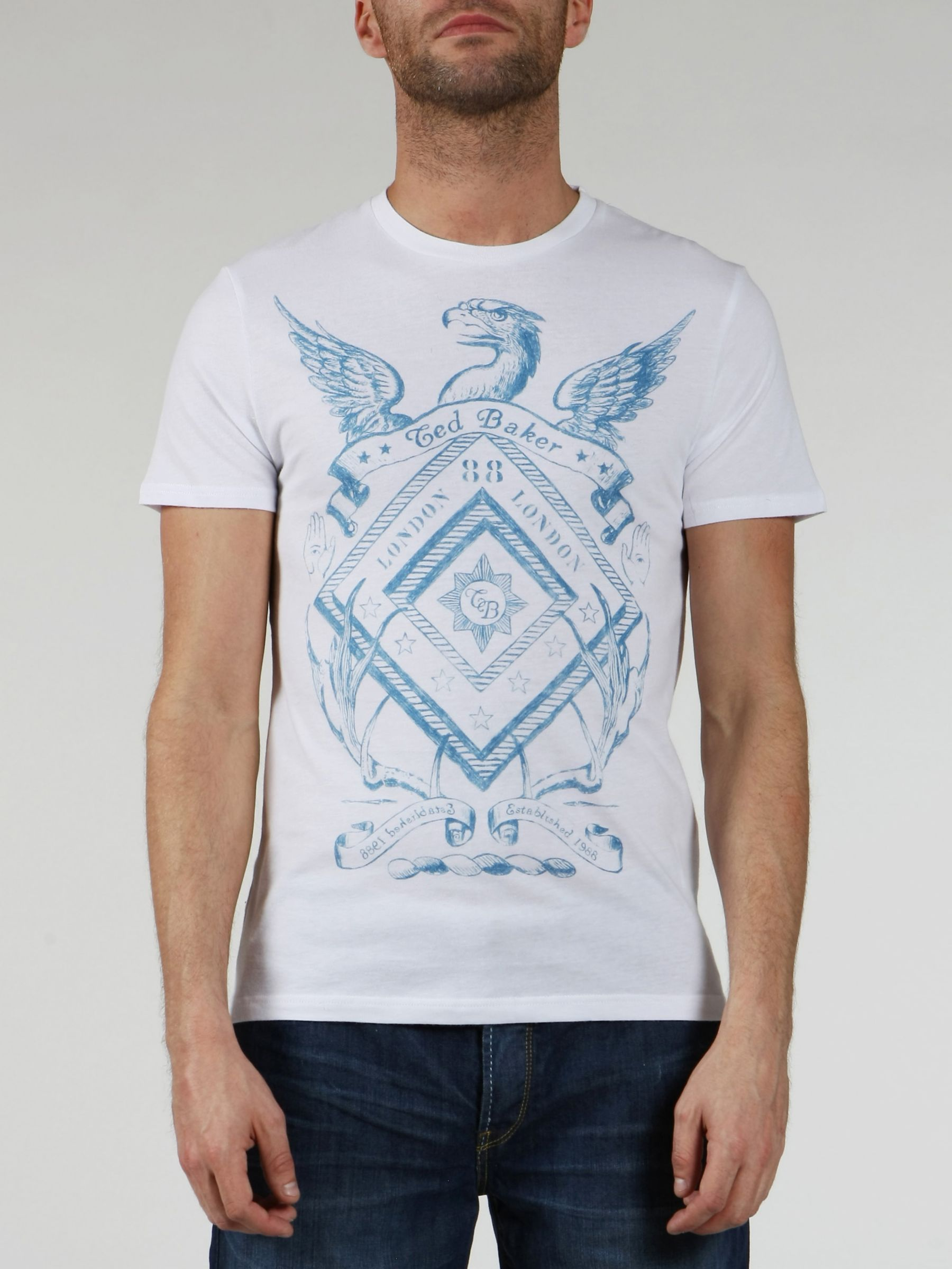 Short-Sleeve Graphic T-Shirt, White