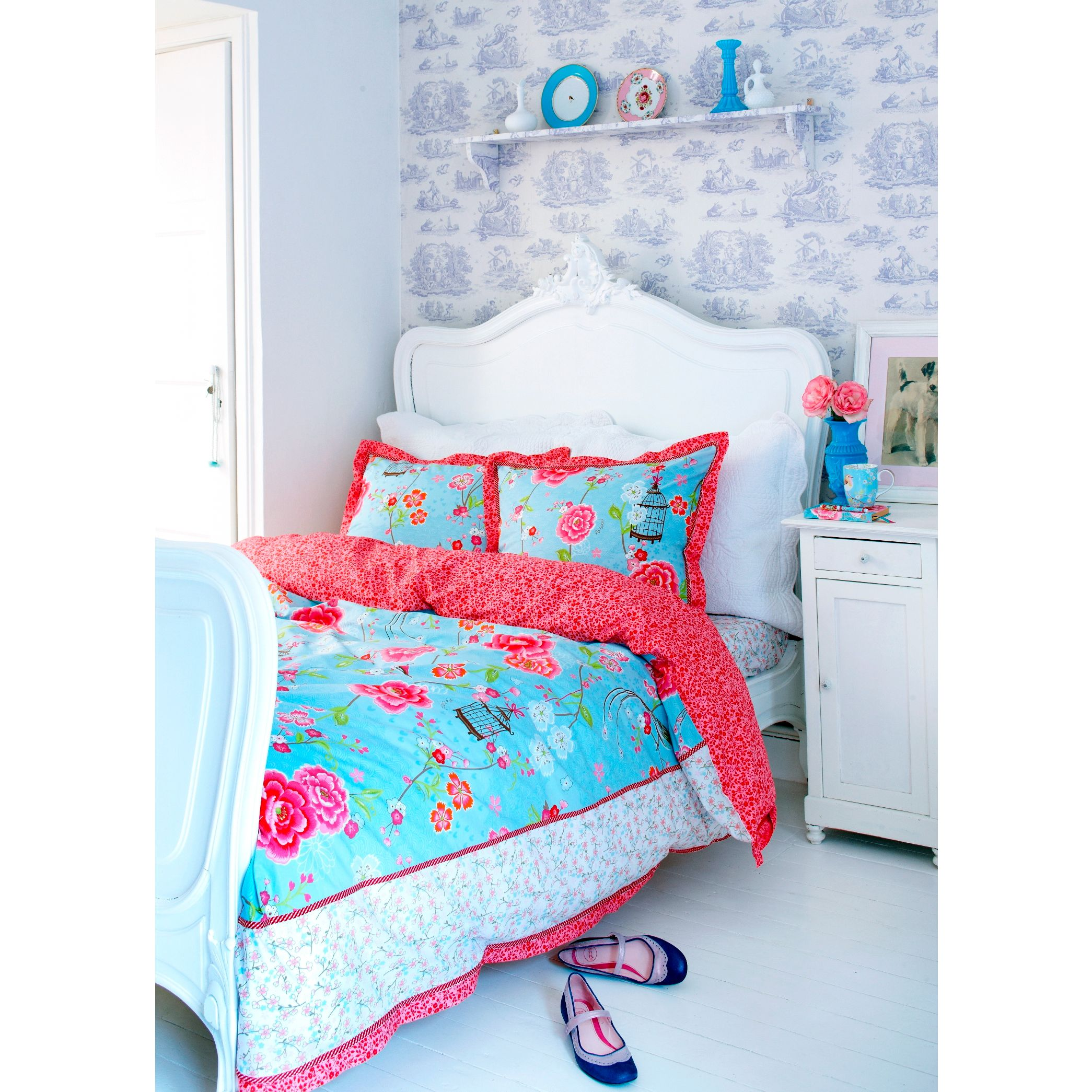 PiP Studio Bird of Paradise Duvet Cover and