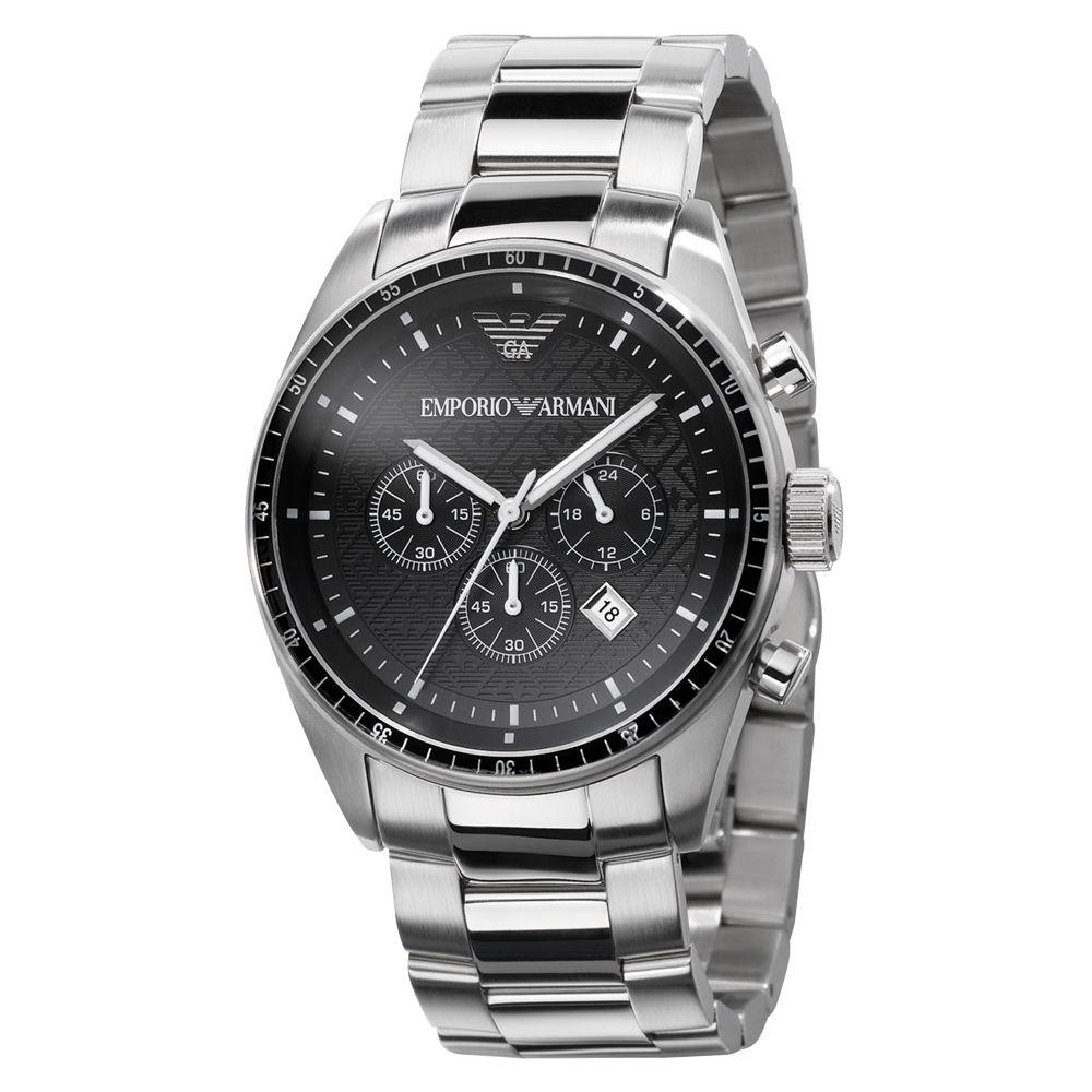 silver watches buy silver watches online page 35 watches org uk emporio armani ar0585 men s chronograph round bracelet watch silver