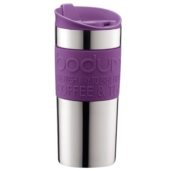 Bodum Travel Mug, 0.35L, Purple