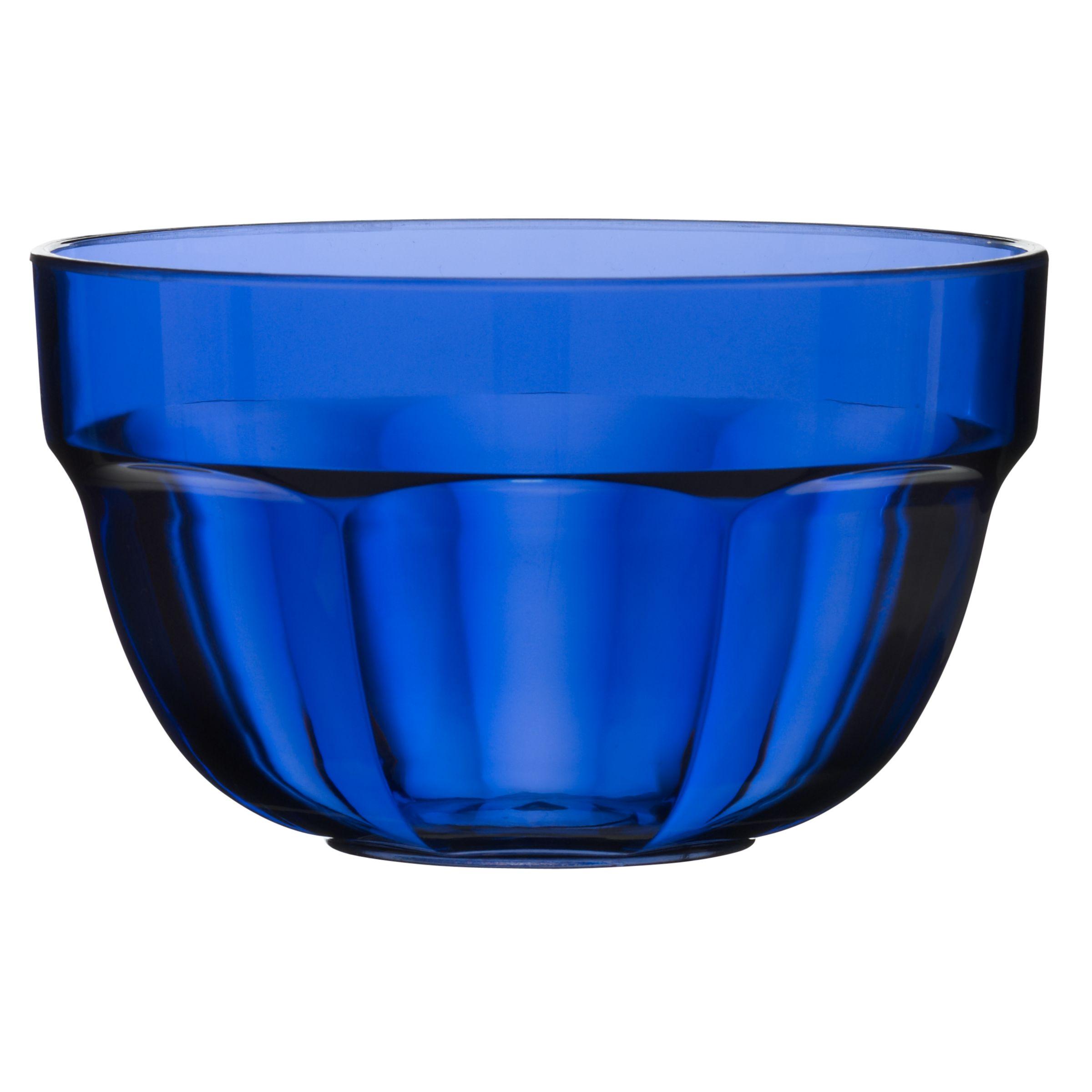 John Lewis Blue Acrylic Bowls