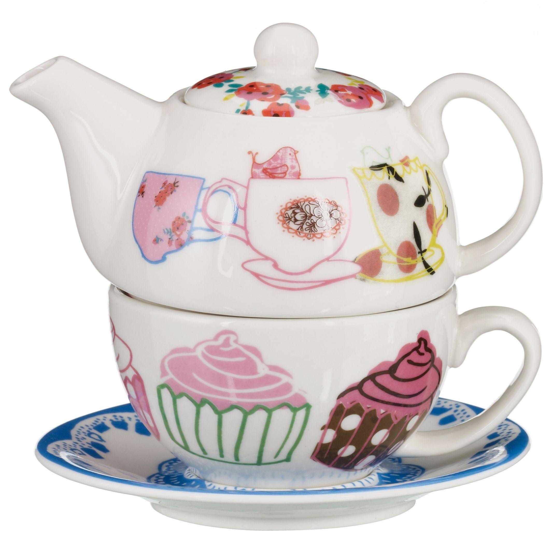 Flutters & Fancies Tea Set