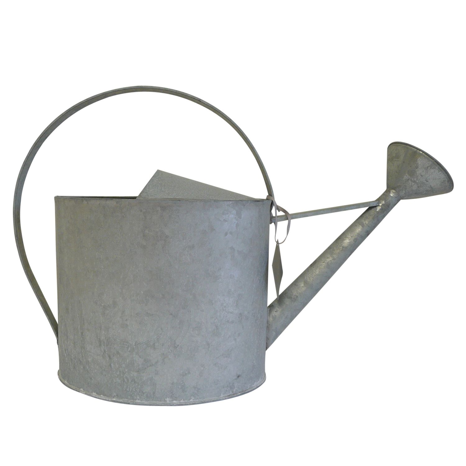 John Lewis Old Zinc Watering Can, Large