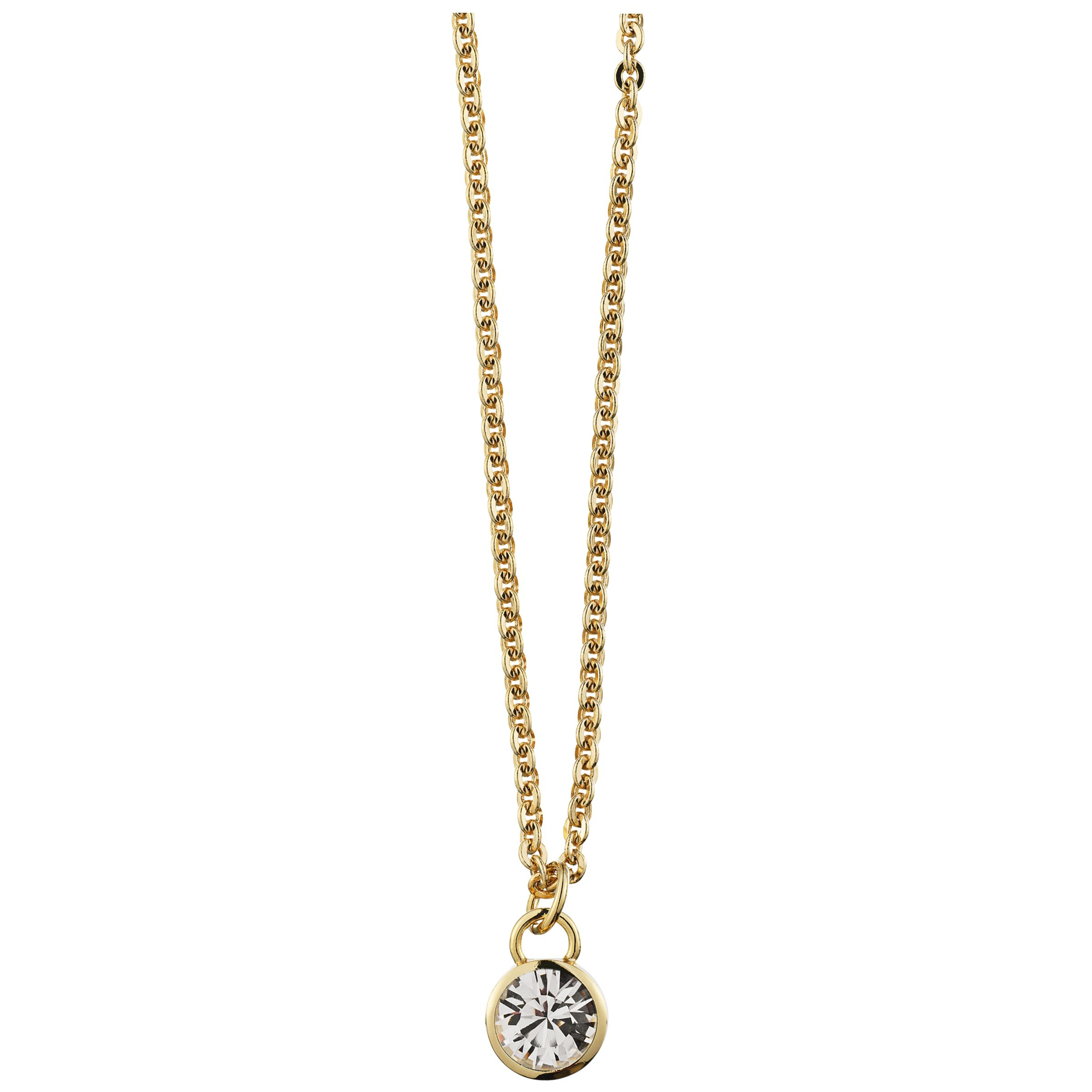 Dyrberg/Kern Luan Gold Crystal Necklace