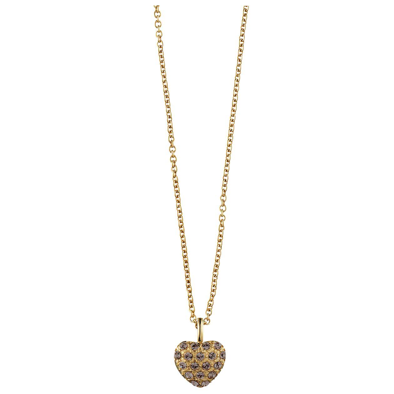 Dyrberg/Kern Ora Swarovski Crystal Heart Pendant Necklace