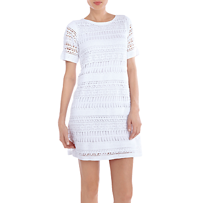 Pippa Middleton White Crochet Dress Tennis