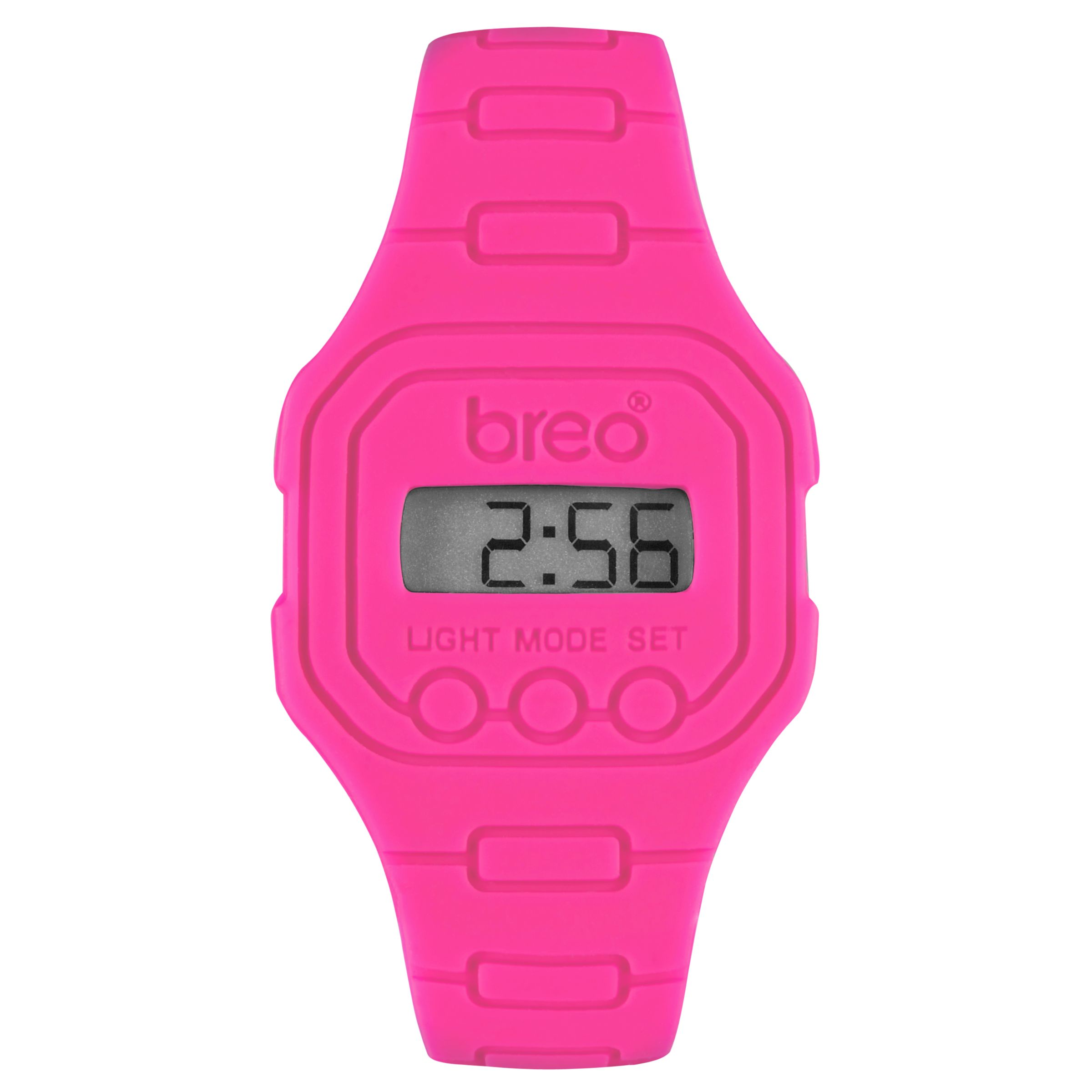 Breo Spectrum B-TI-TN3 Sports Watch, Fluro Pink
