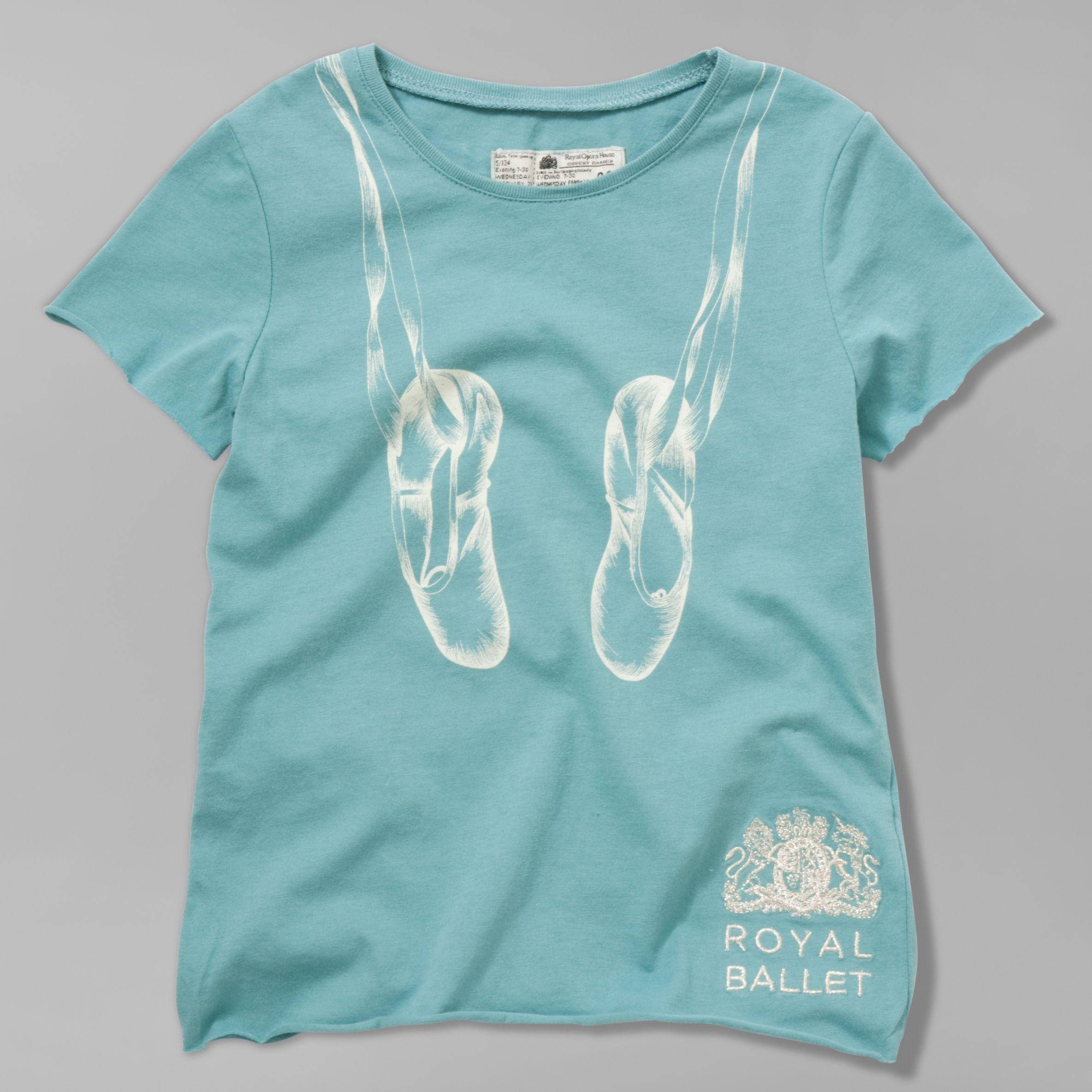 Little Joule Royal Ballet Ballet Shoes T-Shirt,