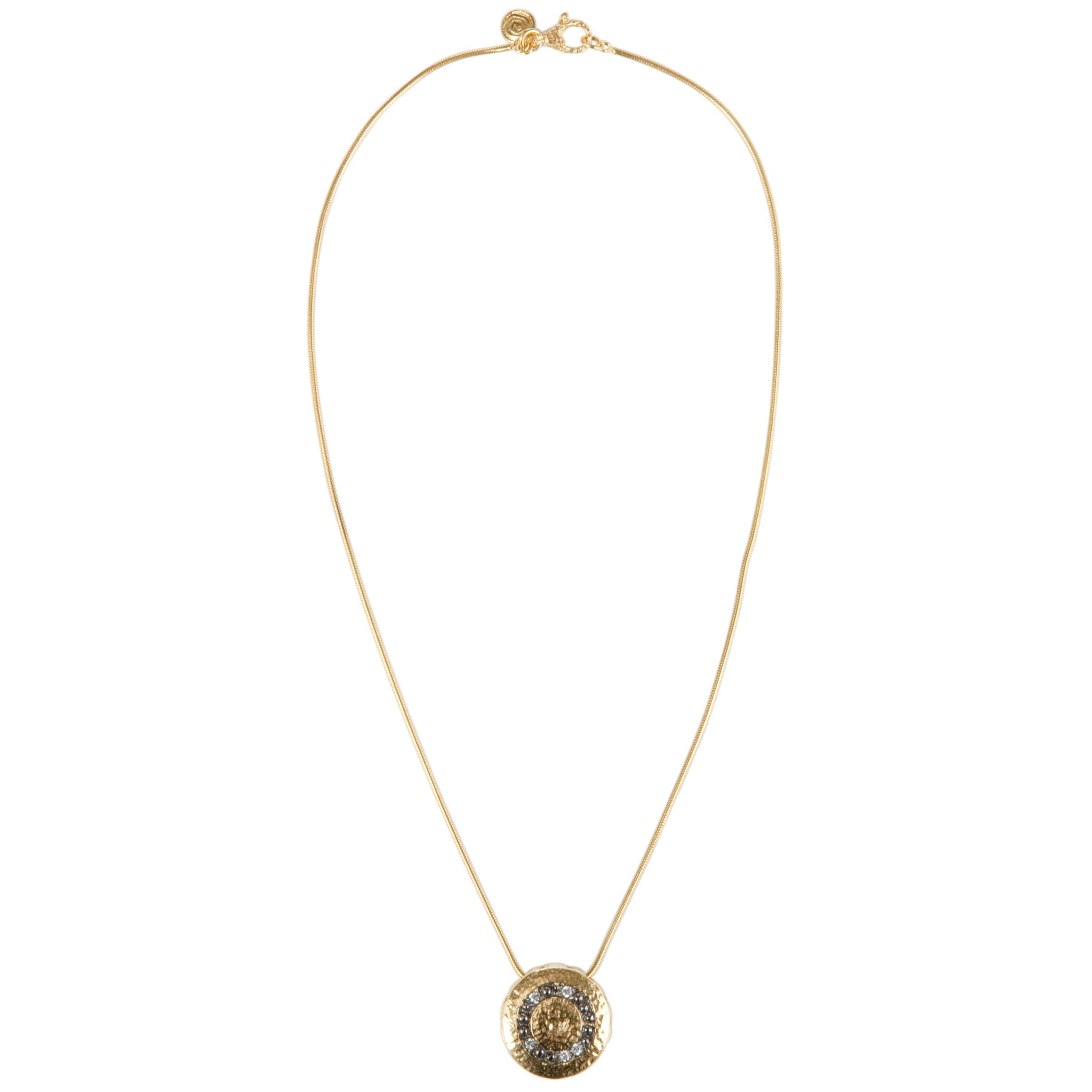 Etrusca 18ct Gold Plated Pendant Necklace