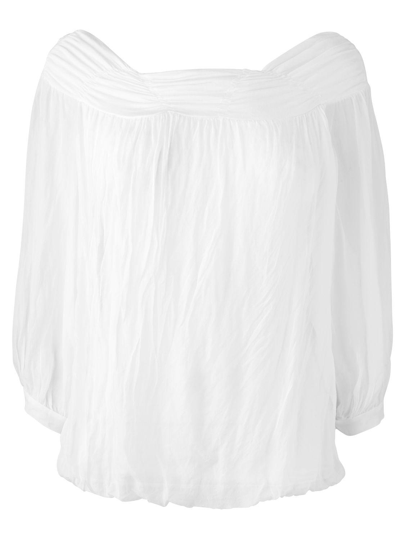 Phase Eight Short Sleeve Gypsy Blouse, White product image